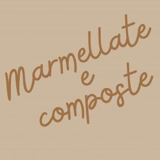 MARMELLATE E COMPOSTE
